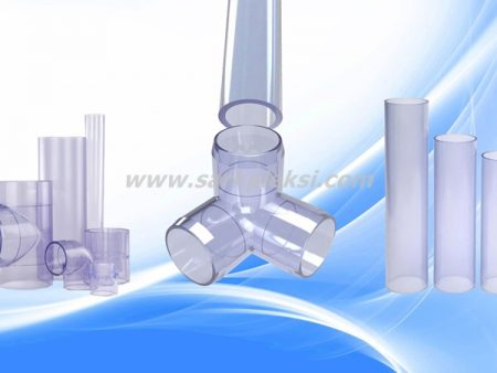 Clear PVC Pipe & Fittings